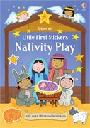 'Little first stickers Nativity Play' book cover