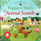 'Poppy and Sam's animal sounds' book cover