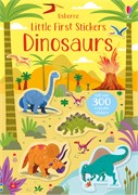 'Little first stickers dinosaurs' book cover