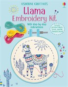'Embroidery kit: Llama' book cover