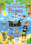 'Little first stickers pirates' book cover