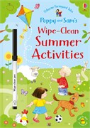 'Poppy and Sam's wipe-clean summer activities' book cover