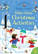 'Poppy and Sam's wipe-clean Christmas activities' book cover