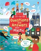 'Lift-the-Flap Questions and Answers About Plastic' book cover
