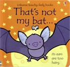 'That's not my bat...' book cover