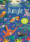 'Little first stickers jungle' book cover