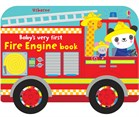 'Baby's very first fire engine book' book cover
