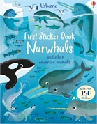 'First Sticker Book Narwhals' book cover