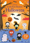 'Little first stickers Halloween' book cover