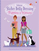 'Sticker Dolly Dressing Puppies and Kittens' book cover