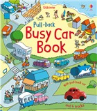 'Pull-back busy car book' book cover