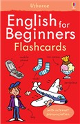 'English for beginners flashcards' book cover