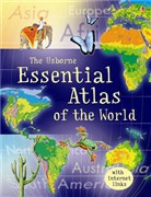 'Essential atlas of the world' book cover