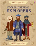 'Sticker Dressing: Explorers' book cover