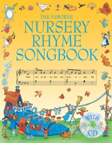 Nursery rhyme songbook with CD