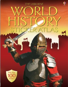 World history sticker atlas
