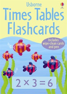 Times tables flashcards