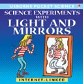 Science experiments with light and mirrors
