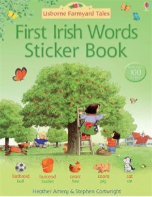 First Irish words sticker book