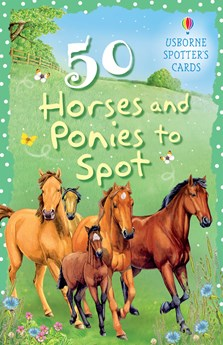 50 horses and ponies to spot