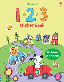 1 2 3 sticker book
