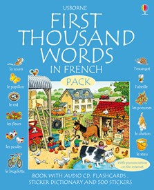 First thousand words in French pack