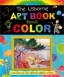 Usborne art book about color