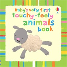 Baby's very first touchy-feely animals book