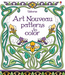 Art Nouveau patterns to color
