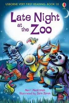 Late night at the zoo