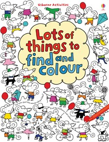 Lots of things to find and colour