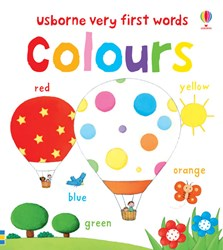 Very first words colours