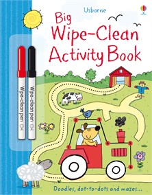Big wipe-clean activity book