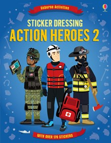 Sticker Dressing: Action heroes 2