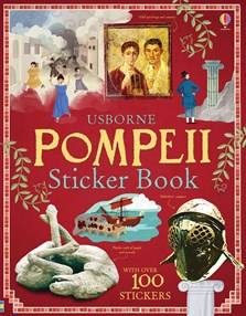 Pompeii sticker book