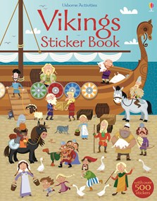 Vikings sticker book