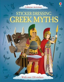 Sticker Dressing Greek myths