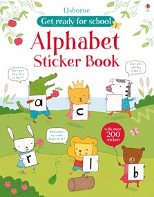 Get Ready For School Alphabet Sticker Book In Usborne Quicklinks