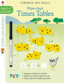 Wipe-clean times tables 6-7