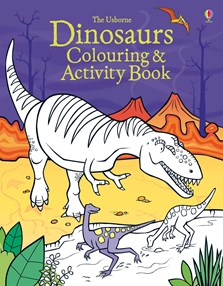 Dinosaurs colouring and activity book