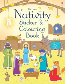 Nativity sticker and colouring book