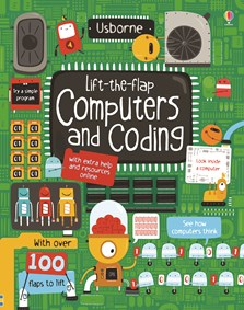 """Lift-the-flap computers and coding"" at Usborne Children's Books"