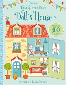 First sticker book: Doll's house