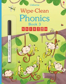 Wipe-clean phonics book 3
