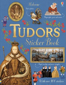 Tudors sticker book