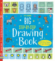 Big step-by-step drawing book