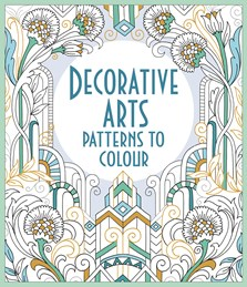 Decorative arts patterns to colour