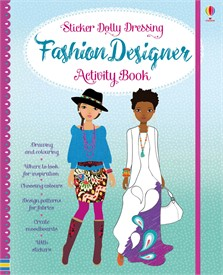Fashion designer activity book