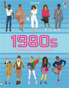 1980s fashion sticker book