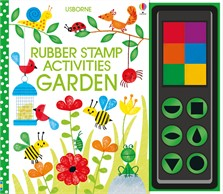 Rubber stamp activities garden